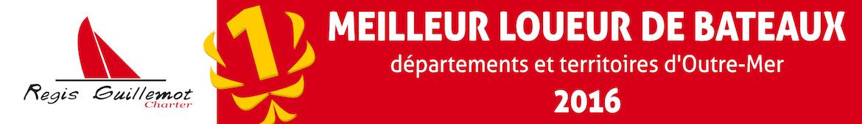 Régis Guillemot Charter, meilleur loueur de bateaux de l'année 2016