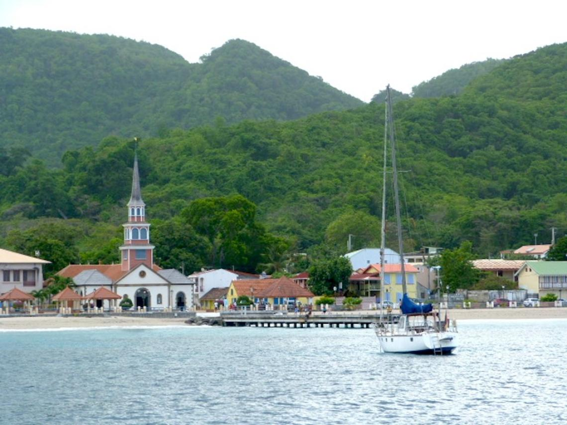 Mooring at Anses d'Arlet, Martinique