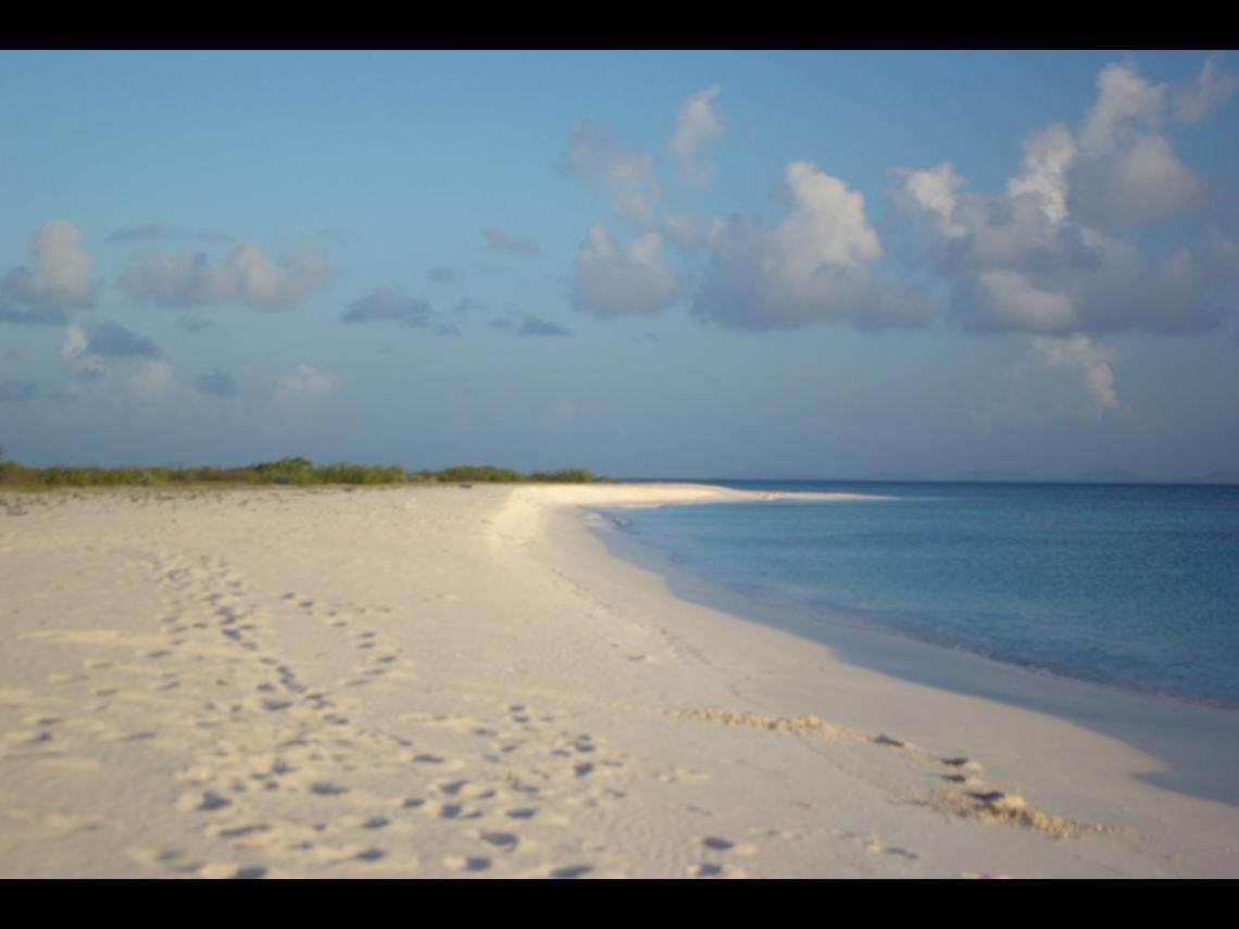 Plage déserte, Barbuda