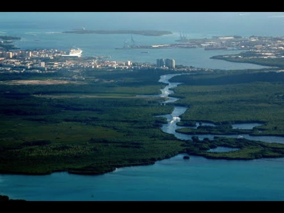 La Rivière Salée, Guadeloupe