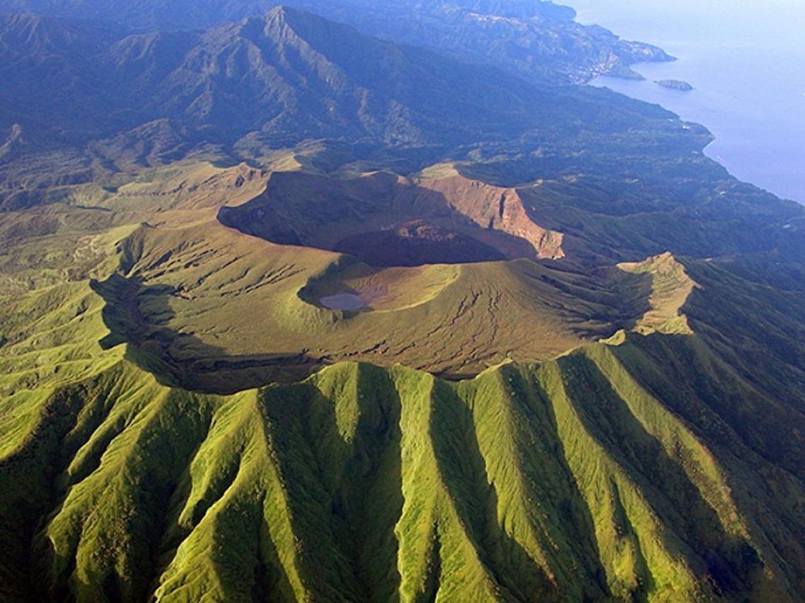 Volcan de Saint Vincent