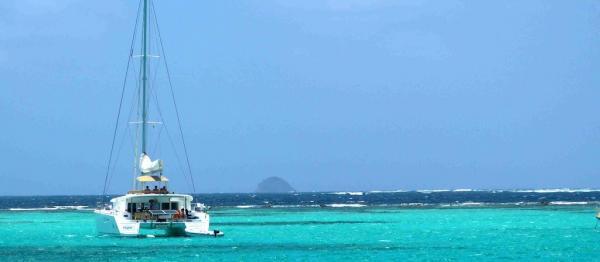 Lagoon 450 dans les Grenadines