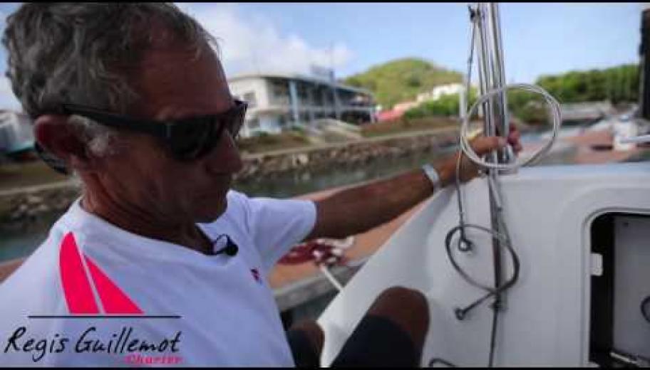 utilisation d'un désalinisateur sur catamaran régis guillemot