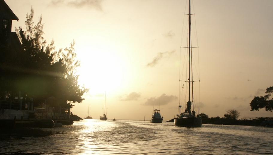 Entering Rodney Bay, Saint Lucia