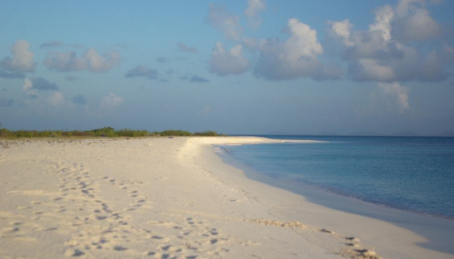 Deserted beach, Barbuda