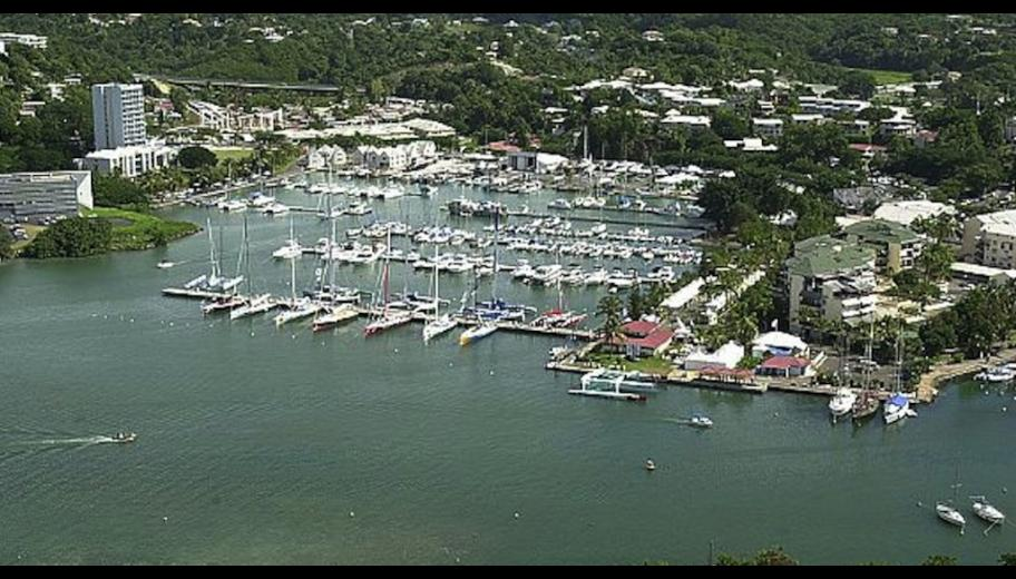 The marina at Bas du Fort, source C.R Guadeloupe