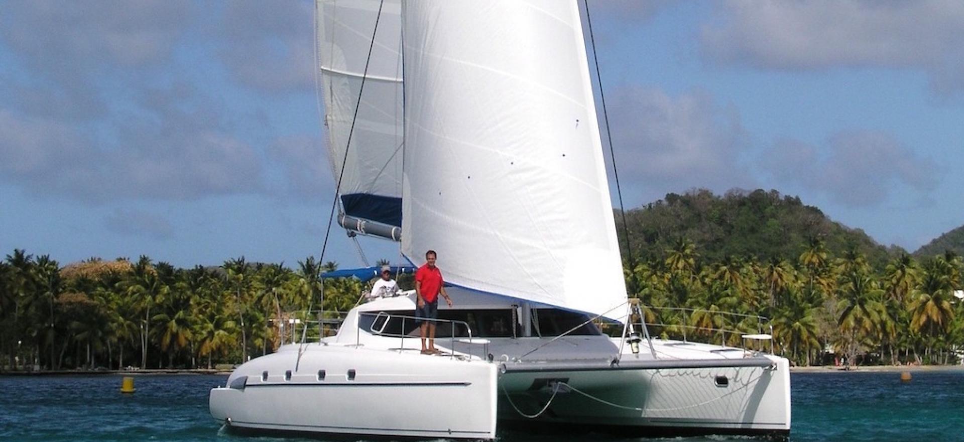 Bahia 46 sous voiles