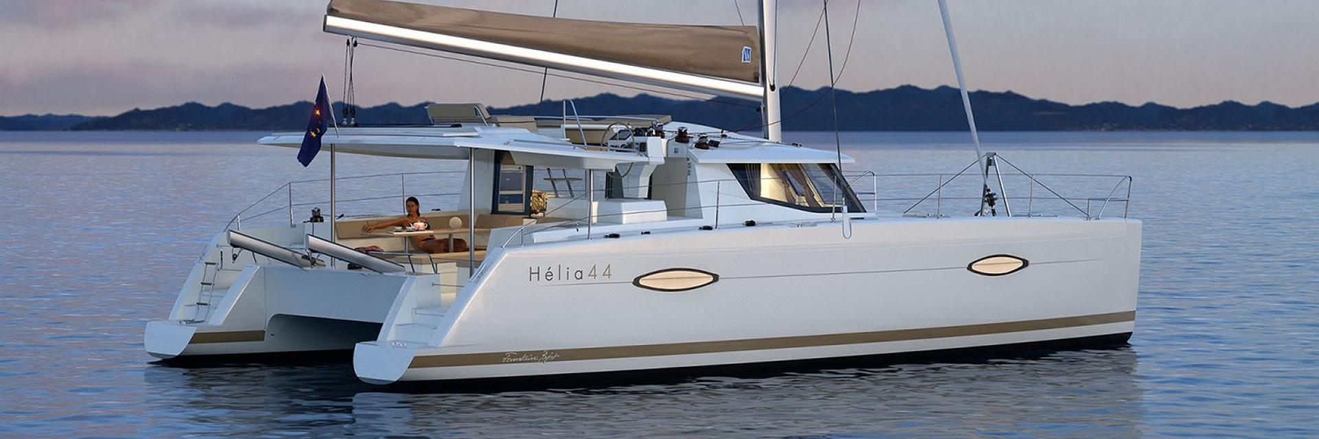 Hélia 44, photo Fountaine Pajot